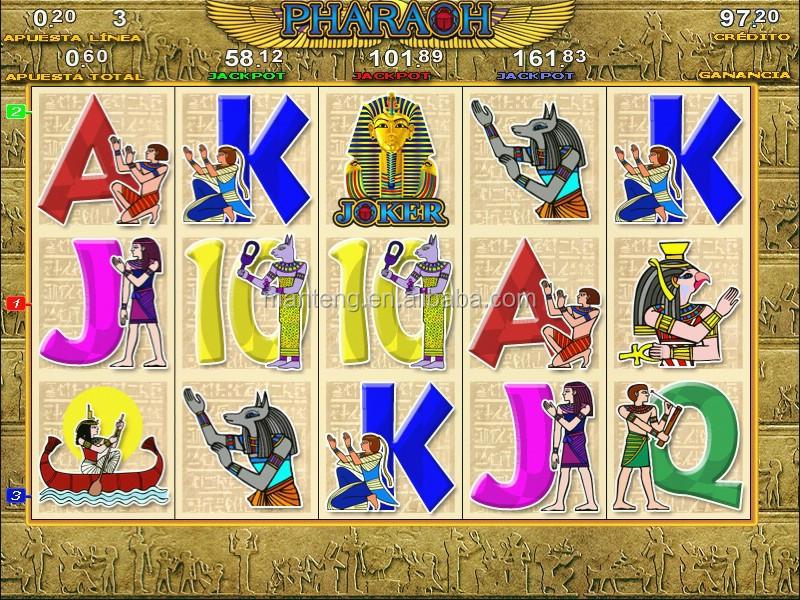 Póker nacional maquinas tragamonedas pharaoh 9 en 1 110145