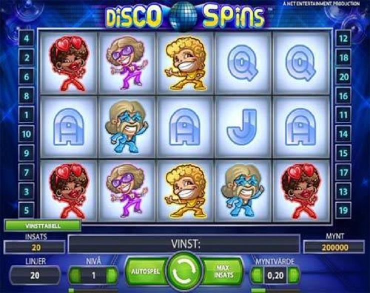 Ruleta europea tragamonedas gratis Disco Spins 314605