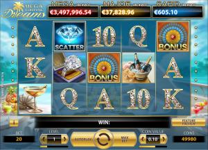 Slots gratis tragaperra Mega Fortune Dreams 822366