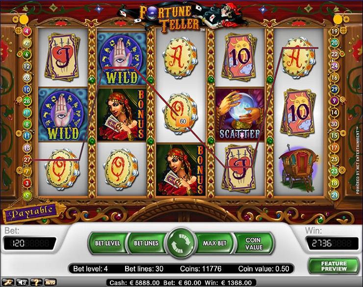 Tiradas gratis casinos fortune teller 160503