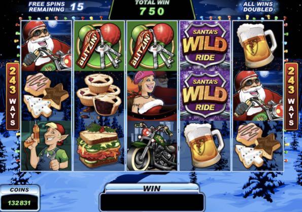 Tiradas gratis Santa's WildRide los mejores casinos del mundo 97853