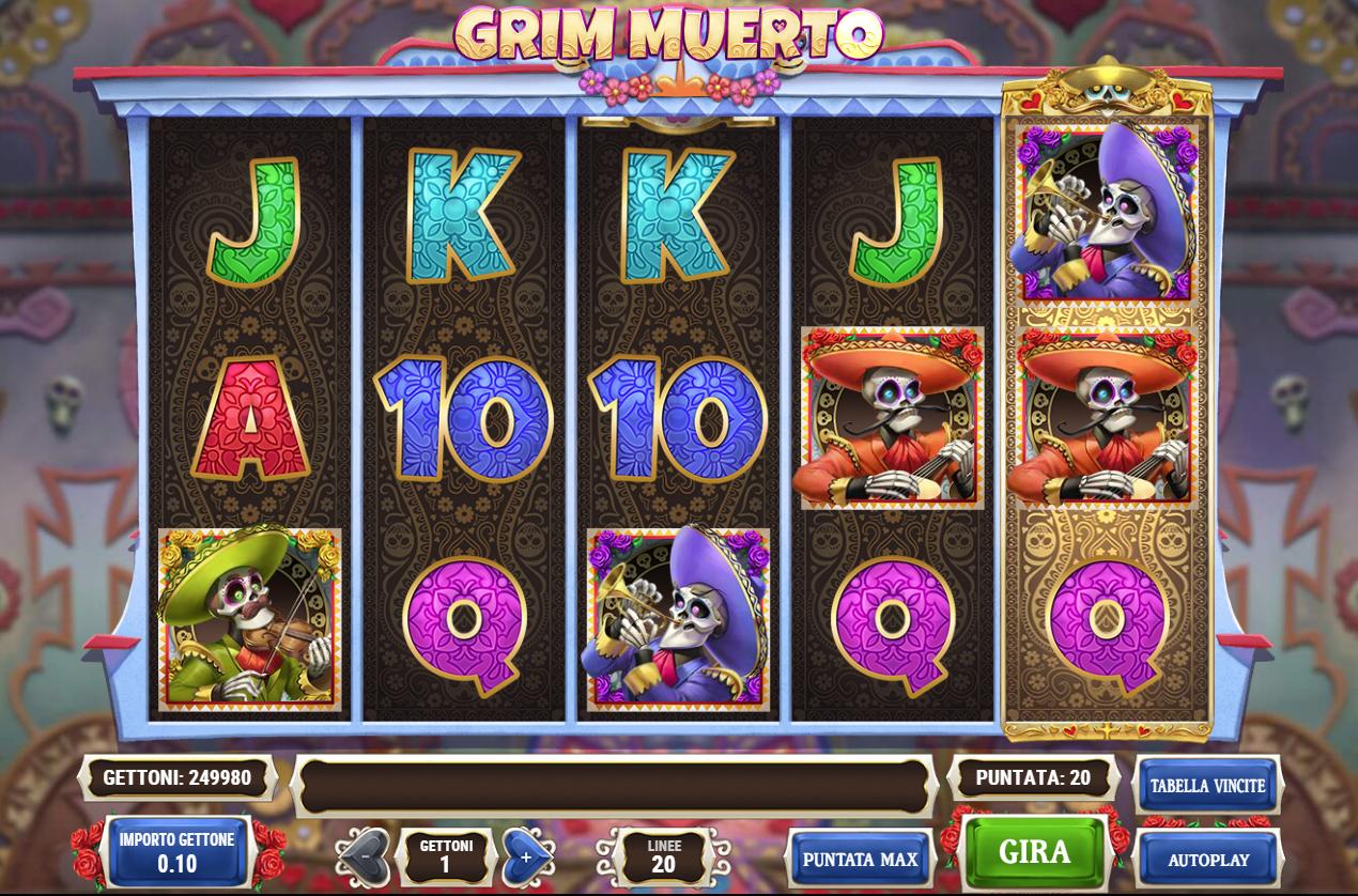 Tragamonedas gratis Grim Muerto tangiers casino 651791