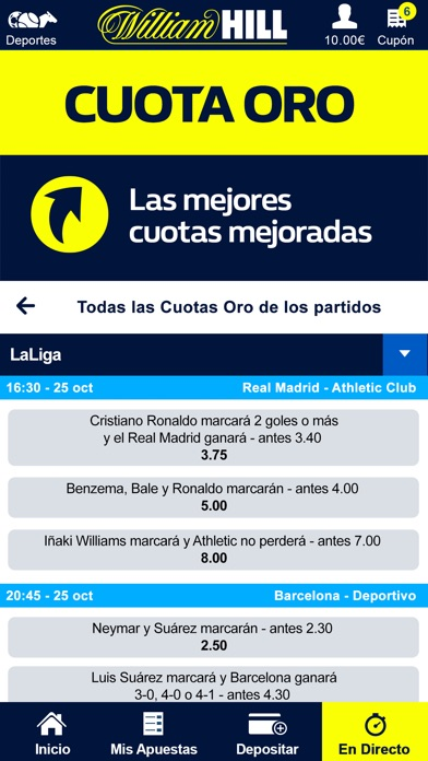William hill entrar juegos de Endorphina 64952