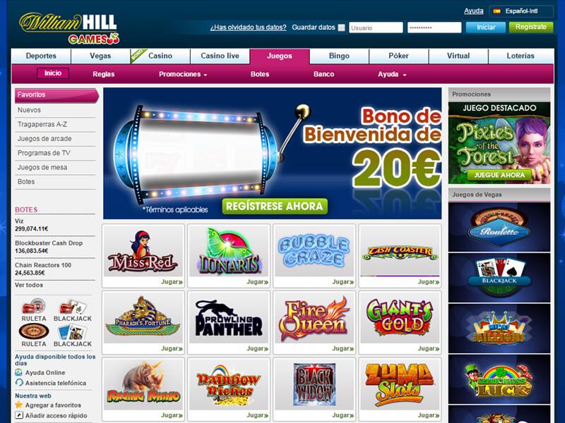 William Hill Sports jugar tragamonedas sin deposito ni registro 563474